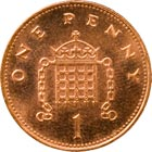 One Penny (Back)