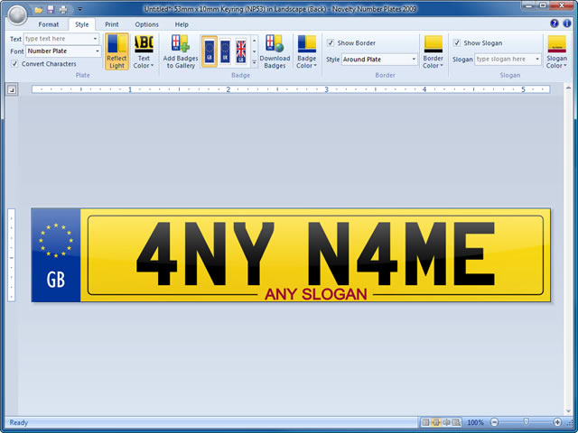 cheap non dating number plates