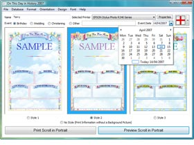 Enter ANY Name and Special Date